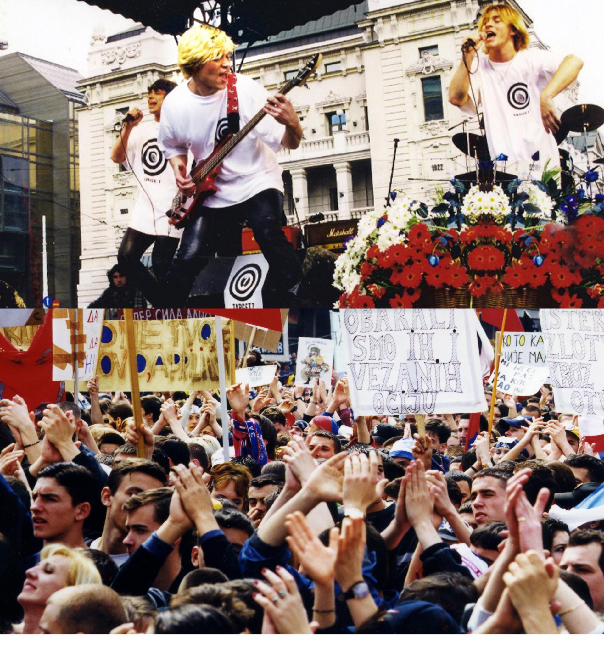 Група На-На у Београду 1999.