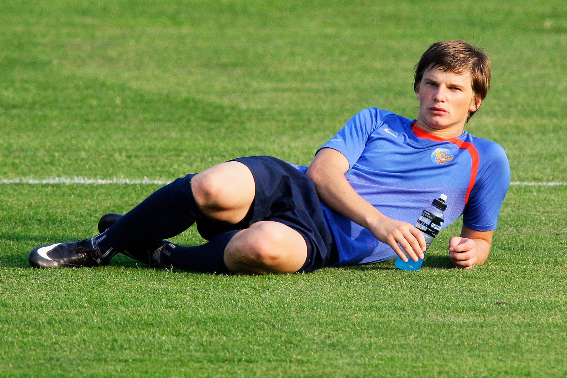 L'ex capitano della Nazionale russa di calcio Andrej Arshavin