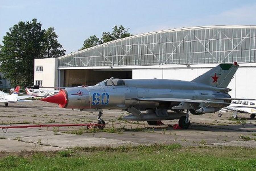 МиГ–21.