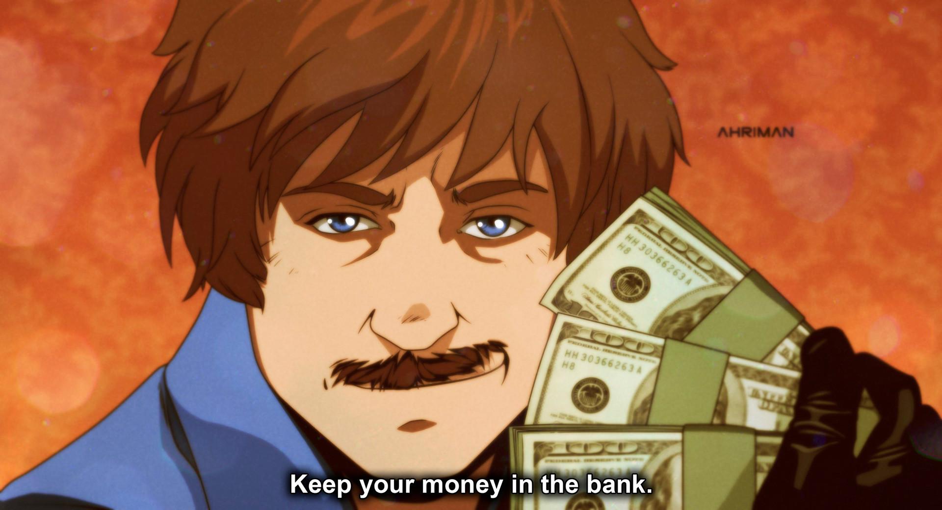 Gardez votre argent à la banque.
