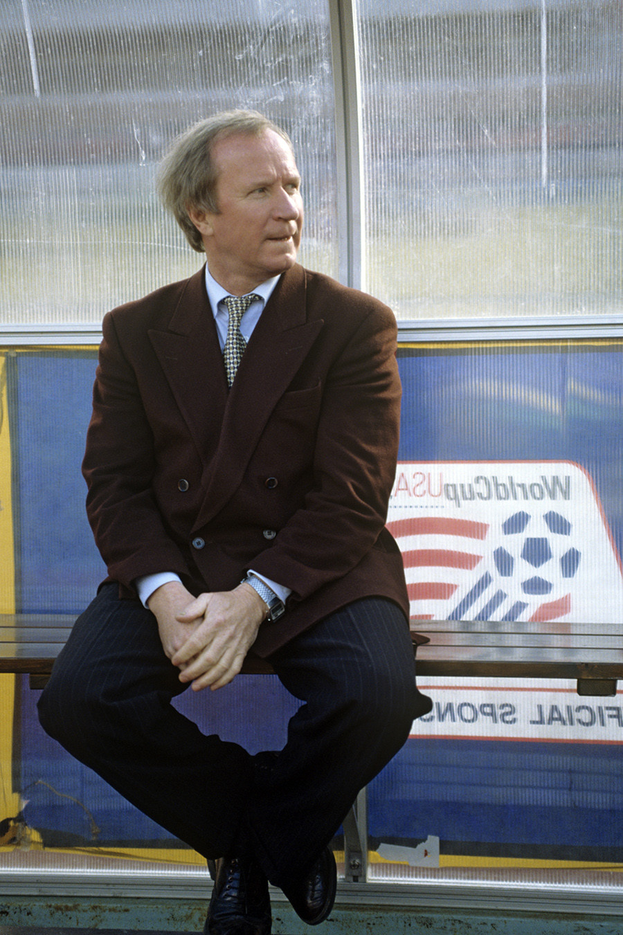 Russian national football team head coach Pavel Sadyrin, 1994
