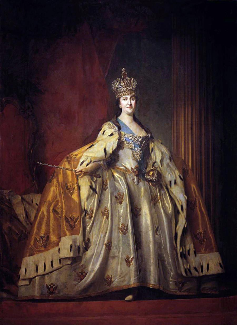 Katharina die Große von Wladimir Borowikovski, 1779