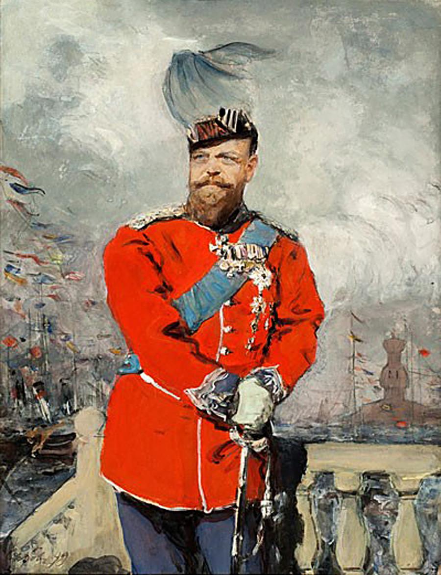 Alexander III. von Walentin Serow, 1899