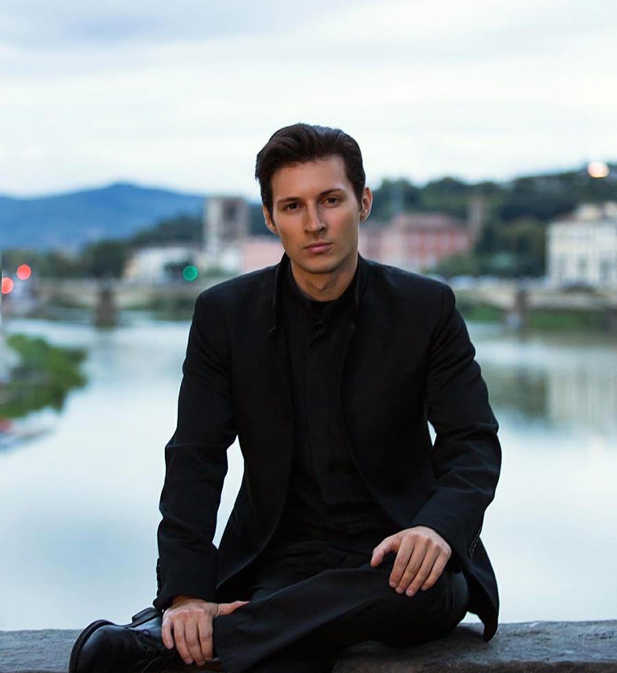 Pawel Durow, der Gründer von dem sozialen Netzwerk VKontakte und dem Telegram-Nachrichtendienst