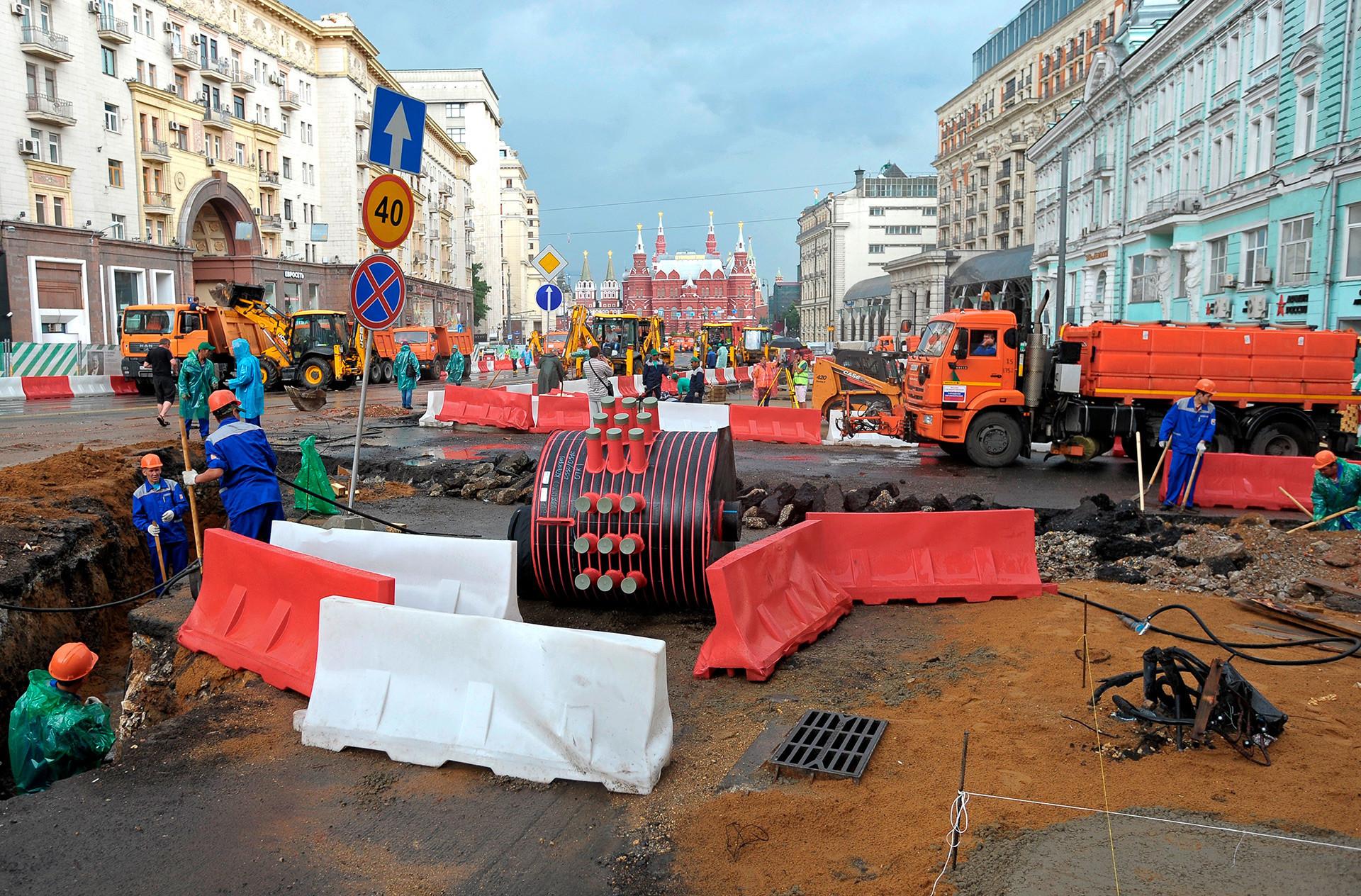 Jalan Tverskaya, Moskow