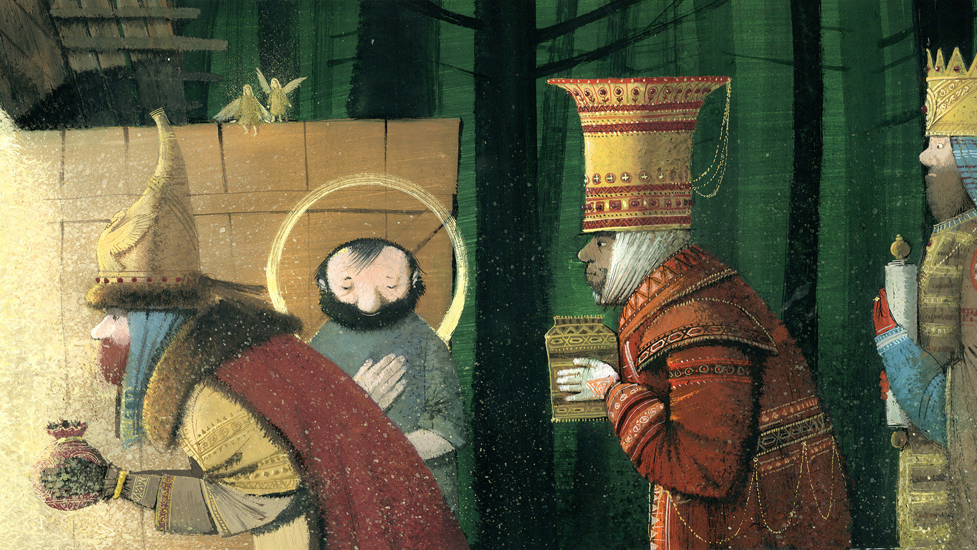 The Ox And The Ass At The Manger by Jules Supervielle (Nikea Books, 2013)