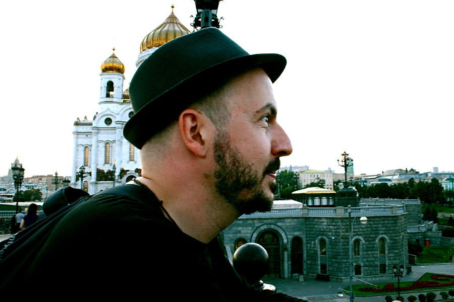 Marcel Krüger in Moskau
