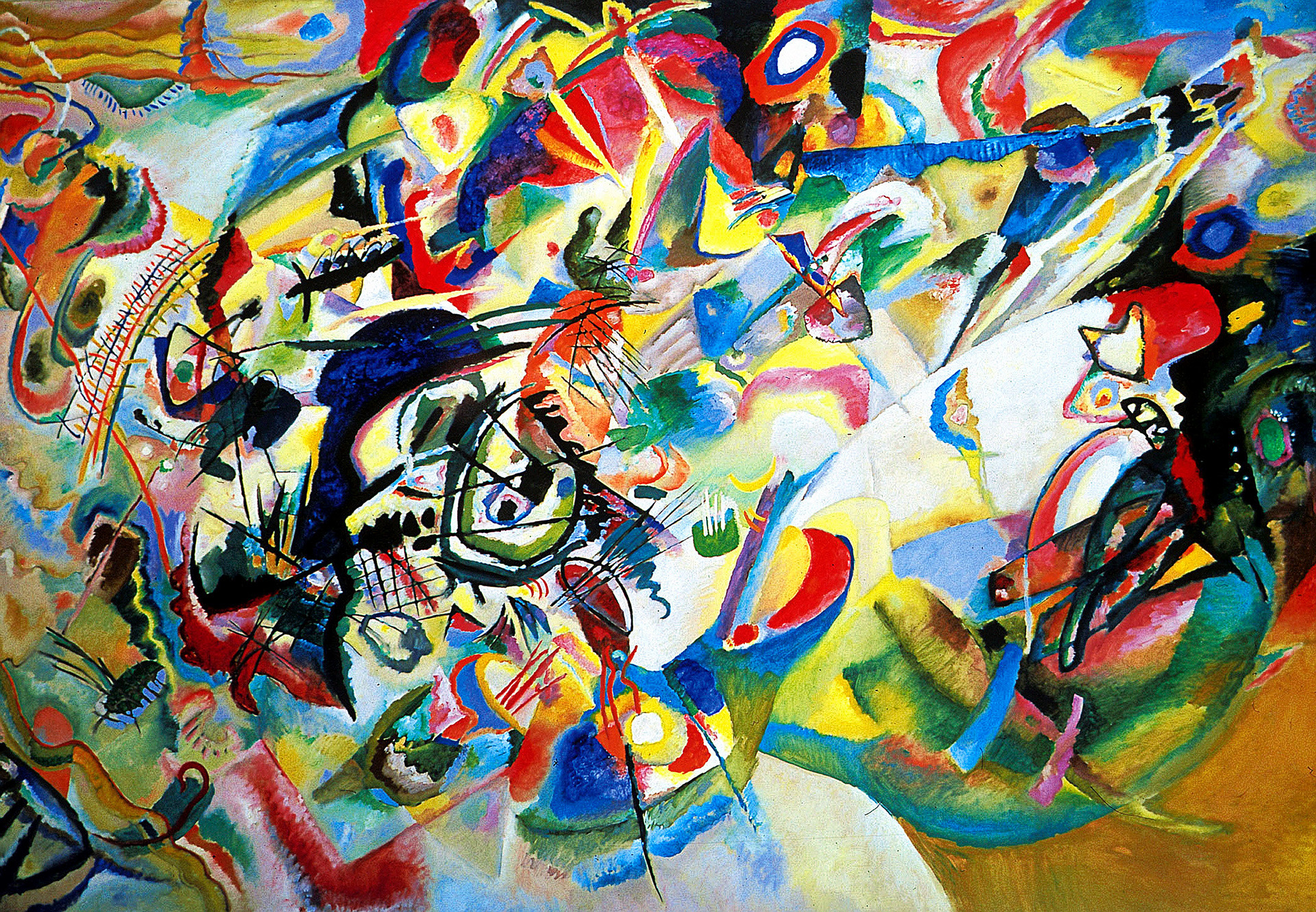 Composition VII by Wassily Kandinsky. 1913.