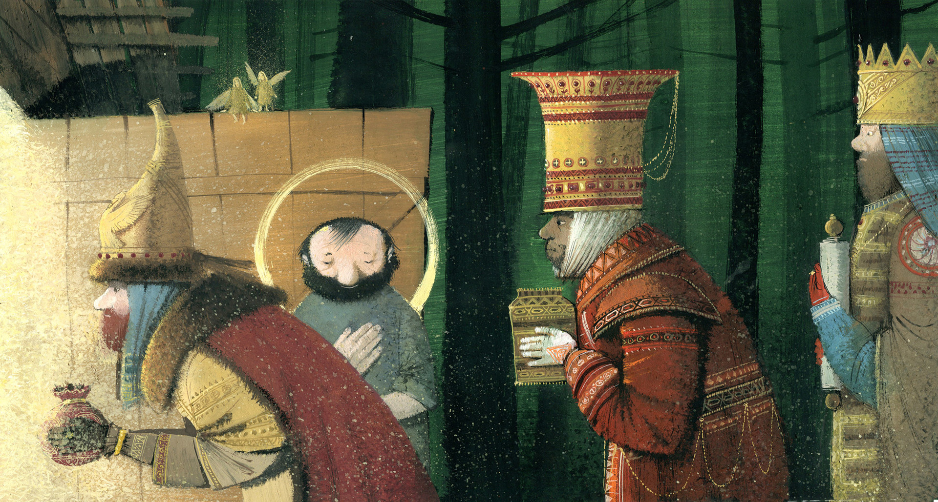 """""""Le boeuf et l'âne de la crèche"""" de Jules Supervielle."""