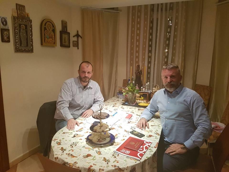 Боро Ђукић и Игор Дамјановић