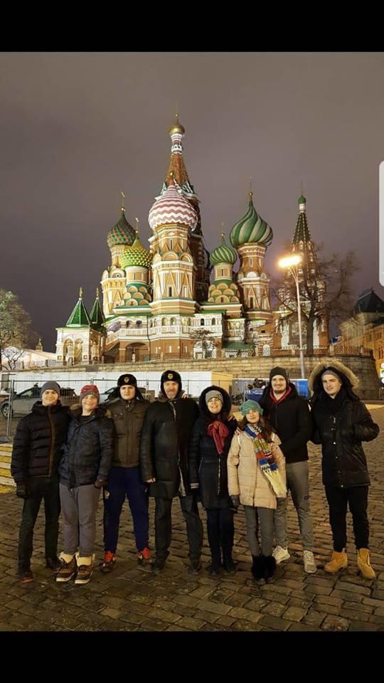 Породица Ђукић у Москви