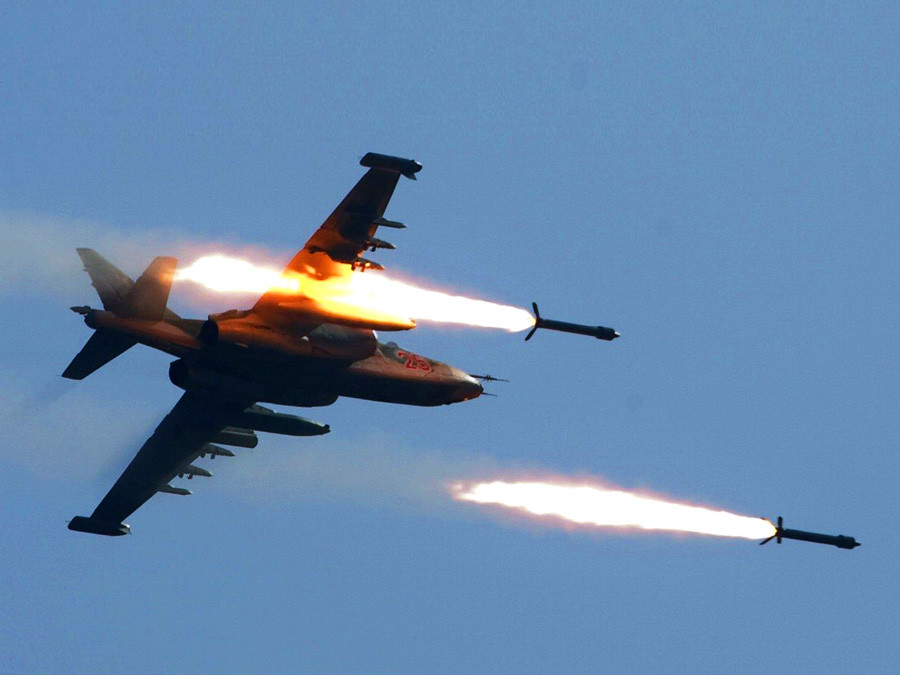 Невођена авионска ракета нове генерације С-80ФП.