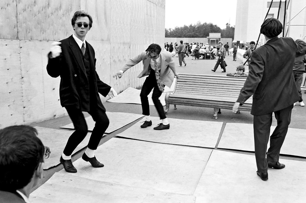 Gerak dansa mods Moskow dari akhir 1950-an.