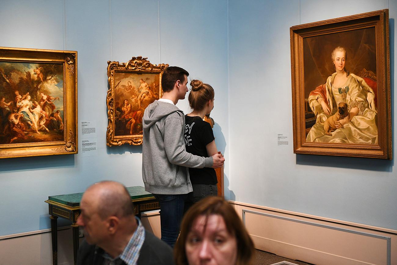 Muzej Puškina je nastao kao odgojno-obrazovni centar za umjetnike i studente umjetnosti.