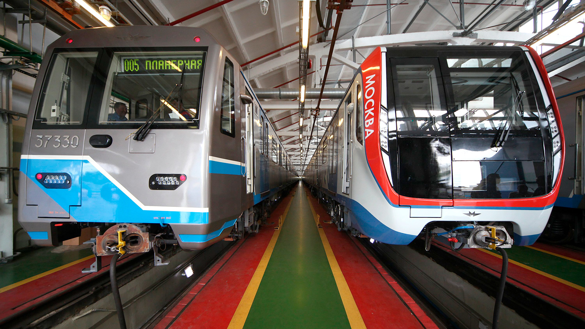 Moscow Metro is soon 81 58