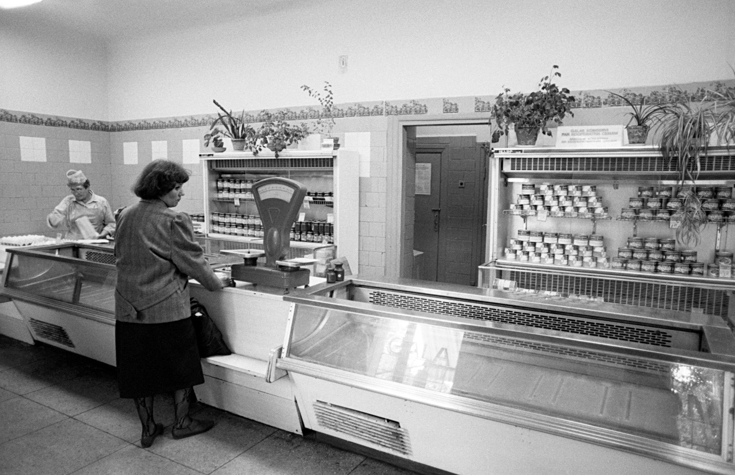 Meat selection in the Soviet Union