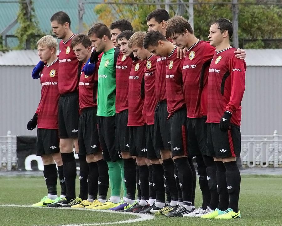 Ehrliche Buben: Die Mannschaft des FC Kolomna