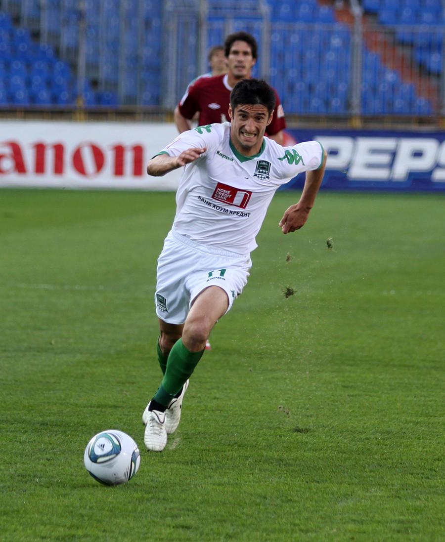 Spartak Gognijew vom FC Krasnodar