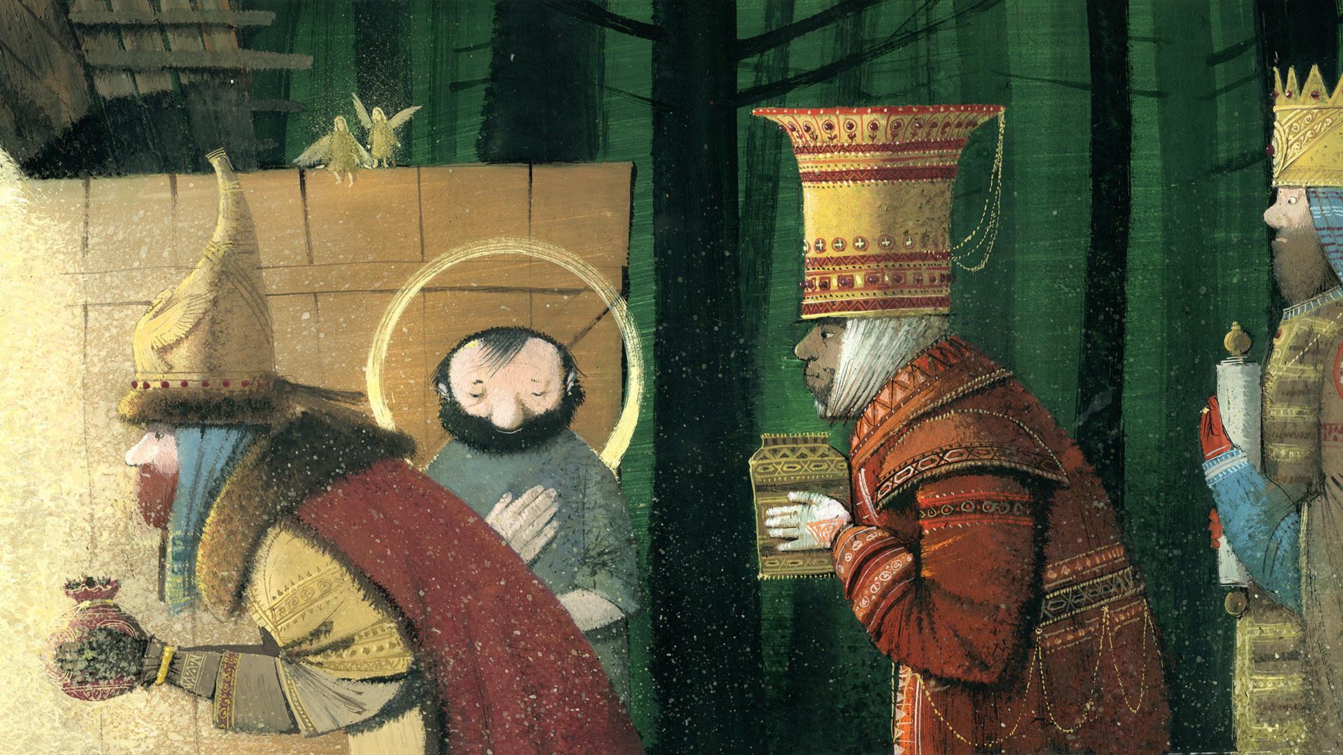 Le Bœuf et l'Âne dans la Crèche par Jules Supervielle (Nikea Books, 2013)