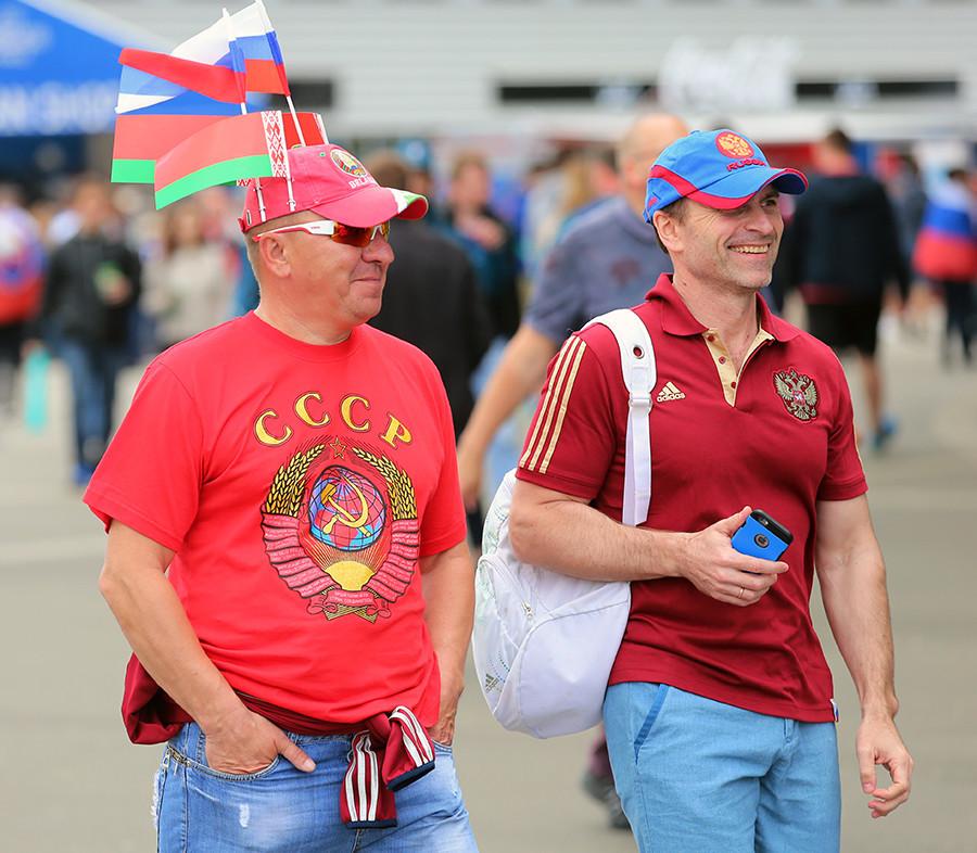 Čak i ako netko nosi majicu sa slovima CCCP (USSR), to ne znači ništa.