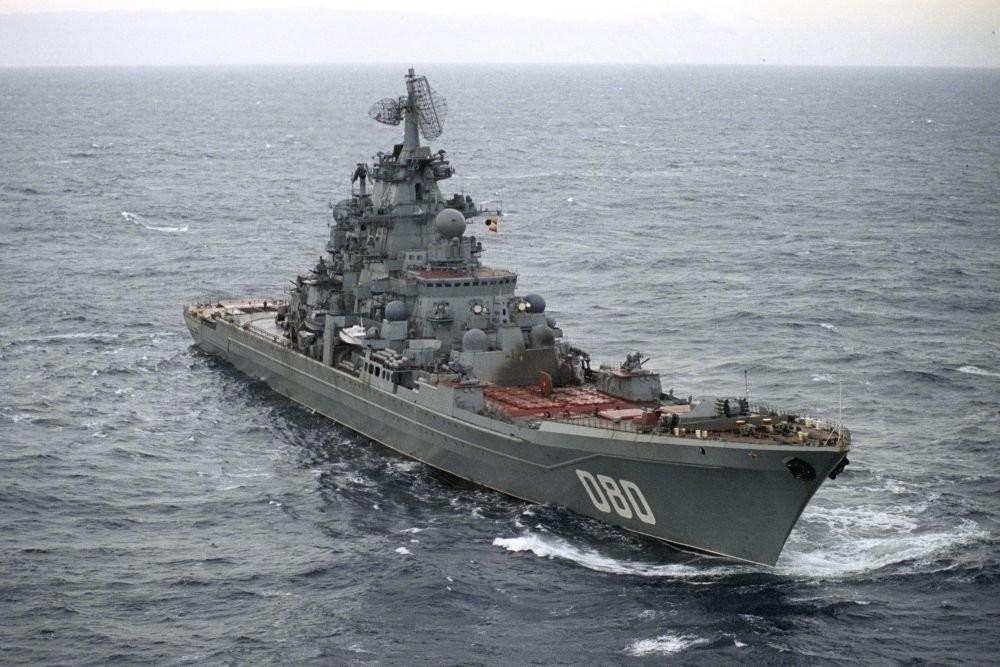 Crucero 'Almirante Najímov'.