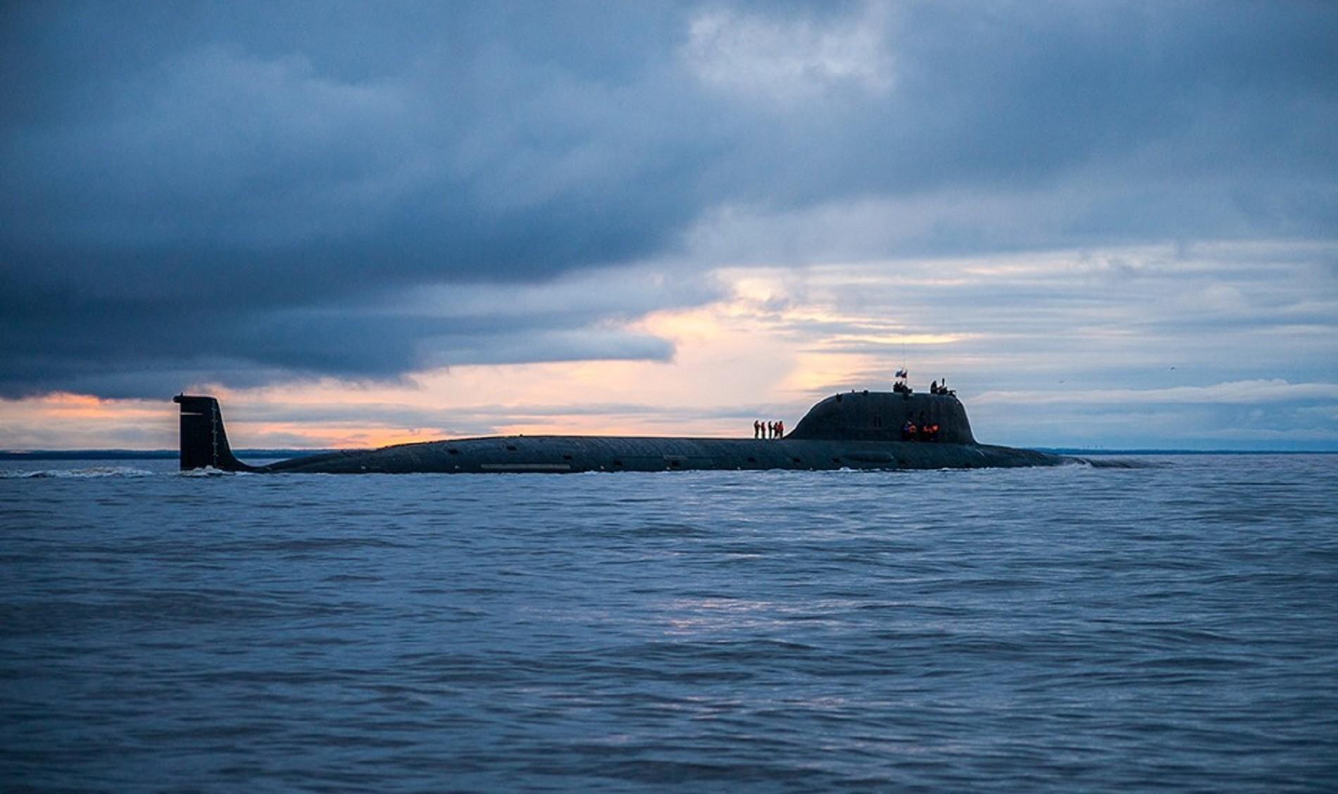 Submarino atómico 'Severodvinsk'.