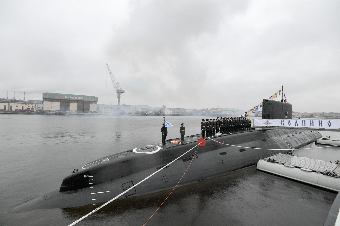 Submarino diésel-eléctrico 'Kólpino'.