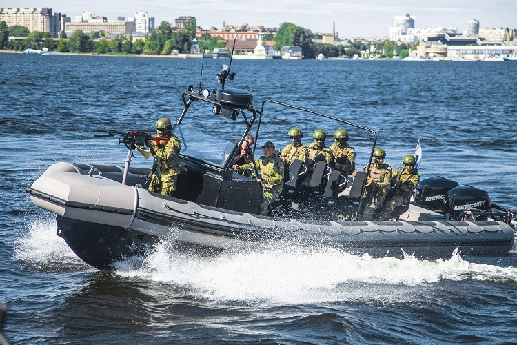 Embarcación de ataque y desembarque BK-10.