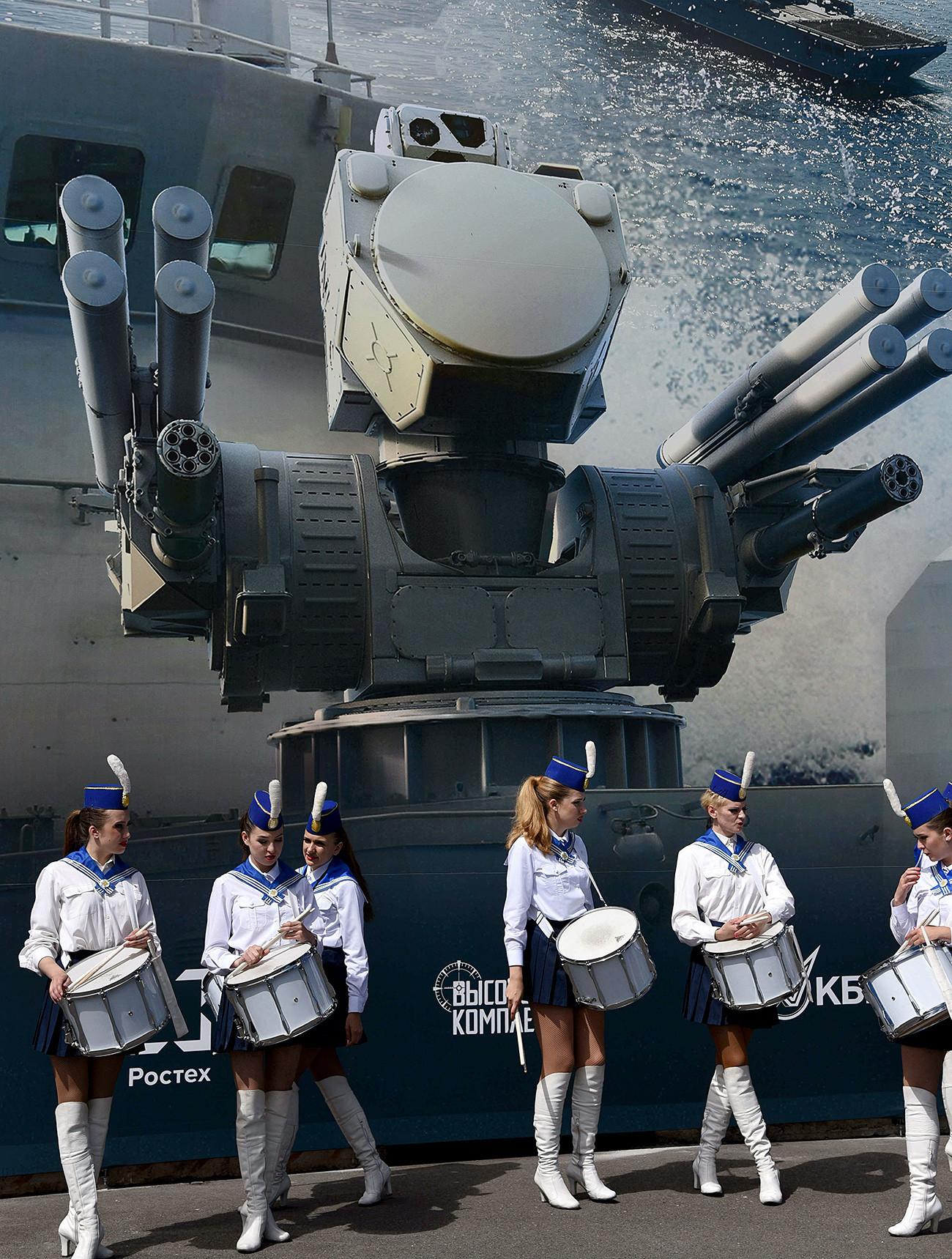 """Панцирь-МЕ"", отворање на 8 меѓународен поморски салон во Санкт Петербург, 28 јуни 2017."