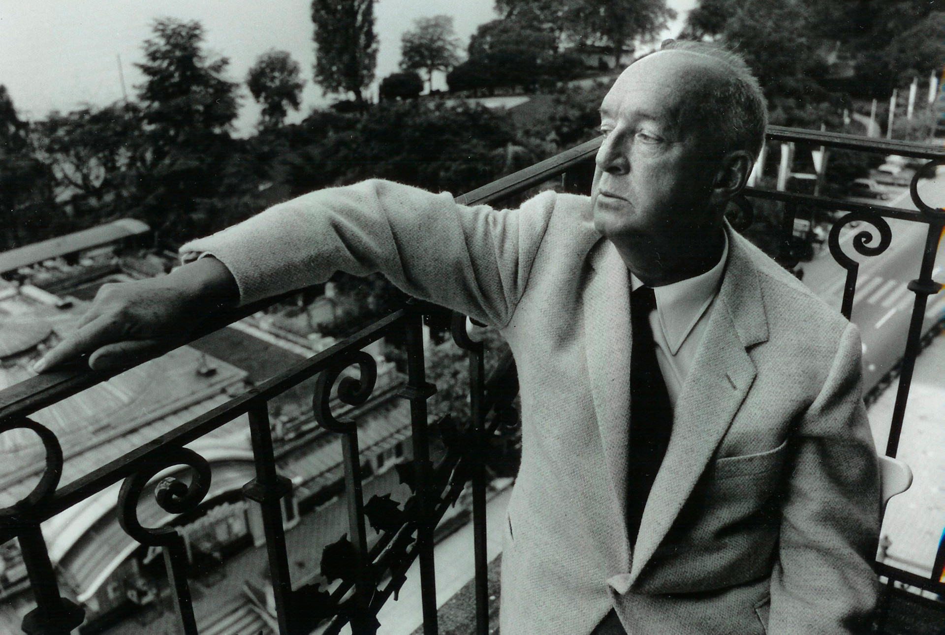 Vladimir Nabokov in Switzerland, 1965
