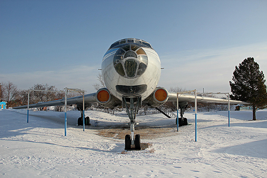 Tu-104A in Berdsk, 2017