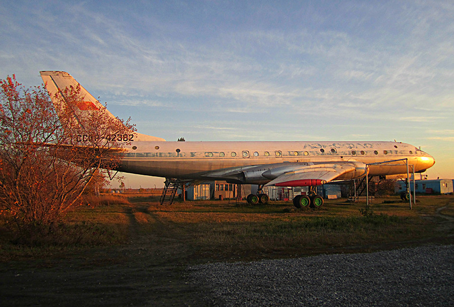 Tu-104A in Berdsk, 2010