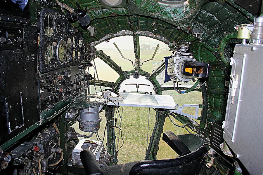 Navigator's cockpit, 2017