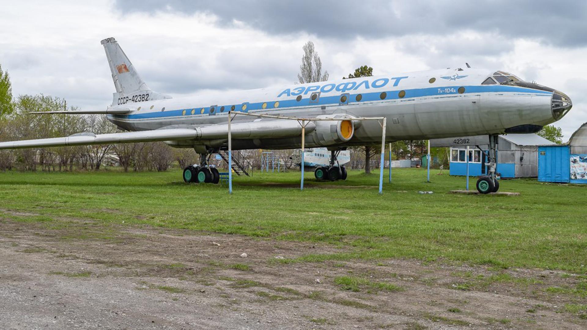 Tu-104A, Berdsk, 2017