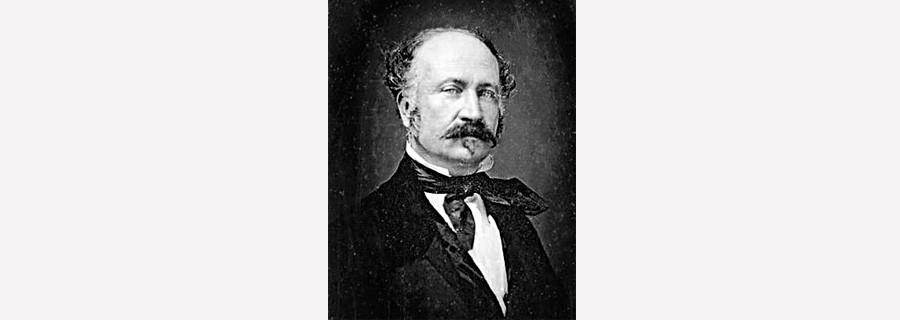 John Sutter, 1850.