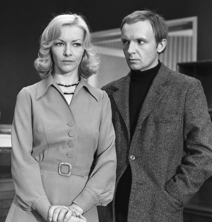 Andrej Mjagkov in Barbara Brilska v filmu Ironija usode.