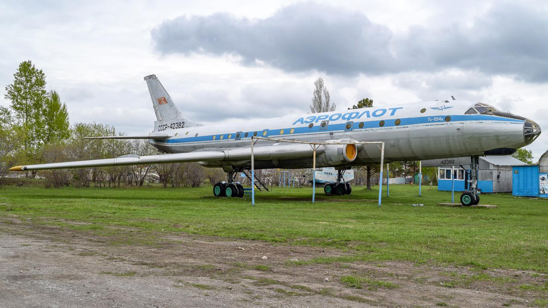 Tu-104A, Berdsk, 2017.