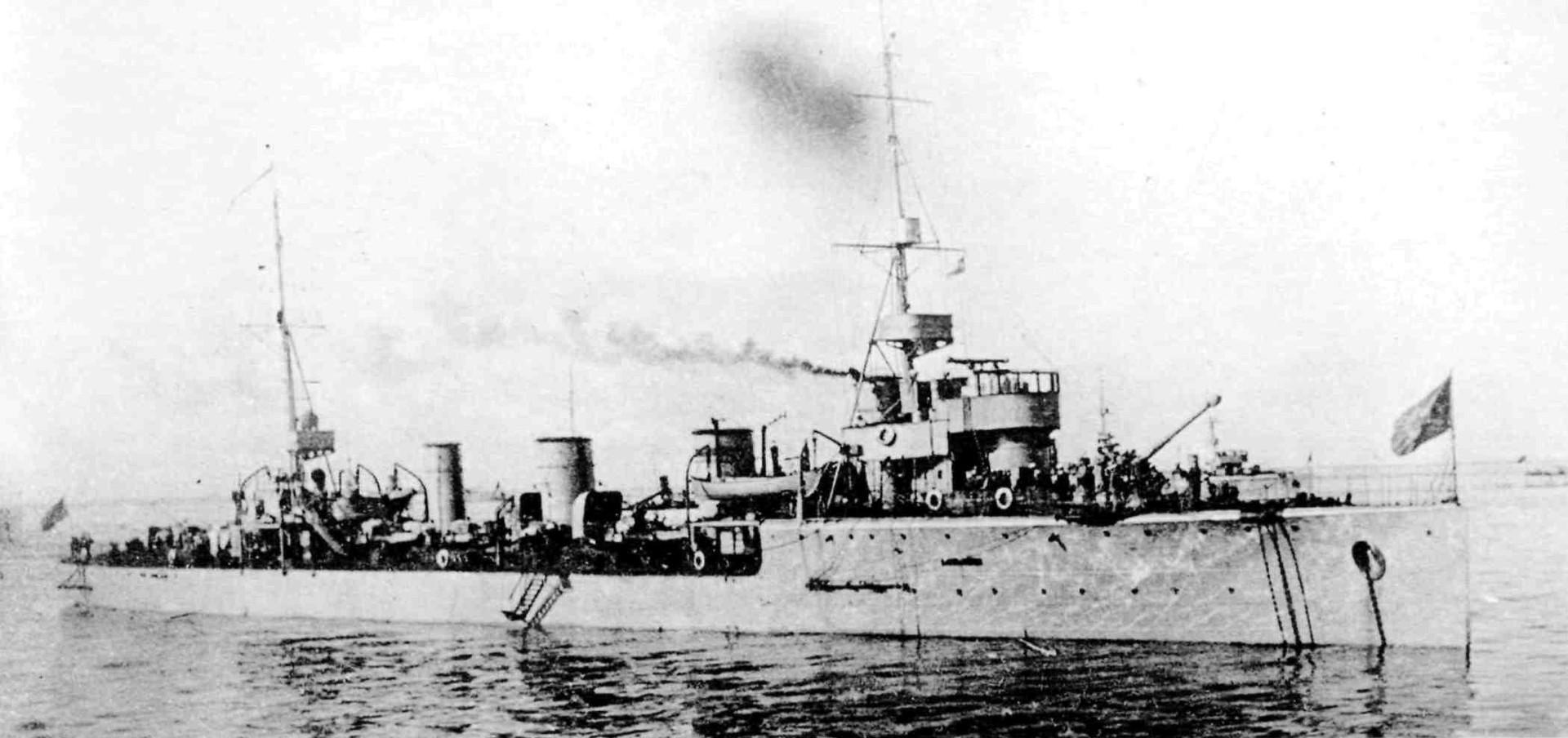 Destructor soviético 'Yákov Sverdlov'.