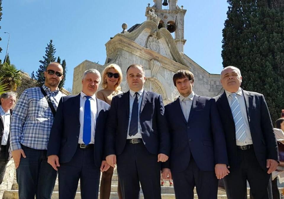 Делегација Рибинска са градоначечником Херцег Новог Стеваном Катићем