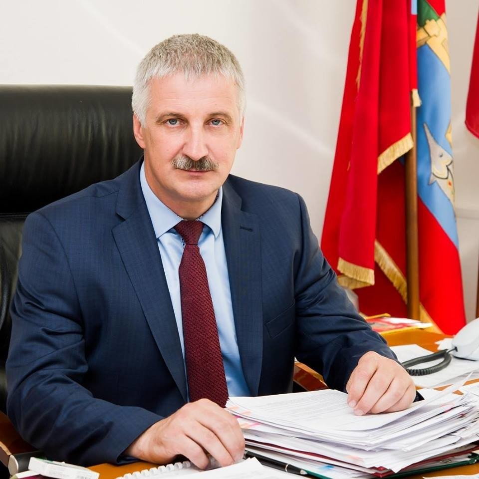 Градоначелник Рибинска Денис Добрјаков