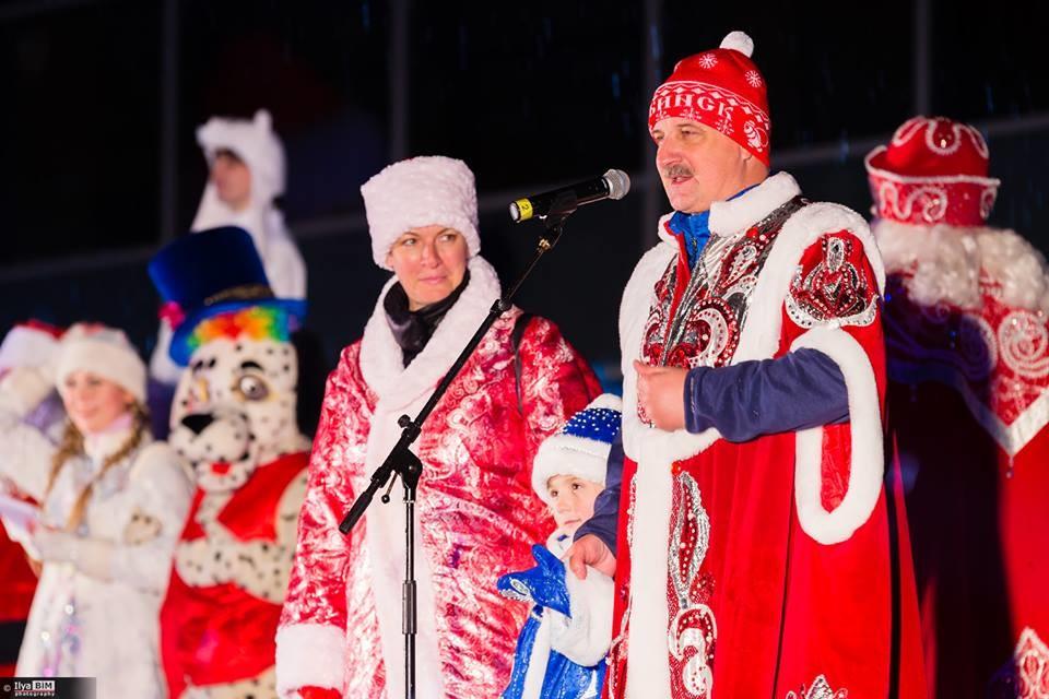 На фестивалу Деда Мразова у Рибинску, децембар 2017.