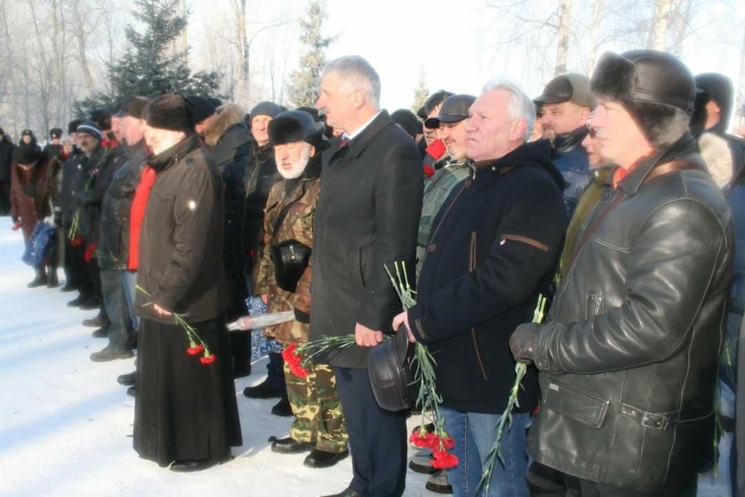 Манифесација на Дан погинулих у Авганистану у Рибинску