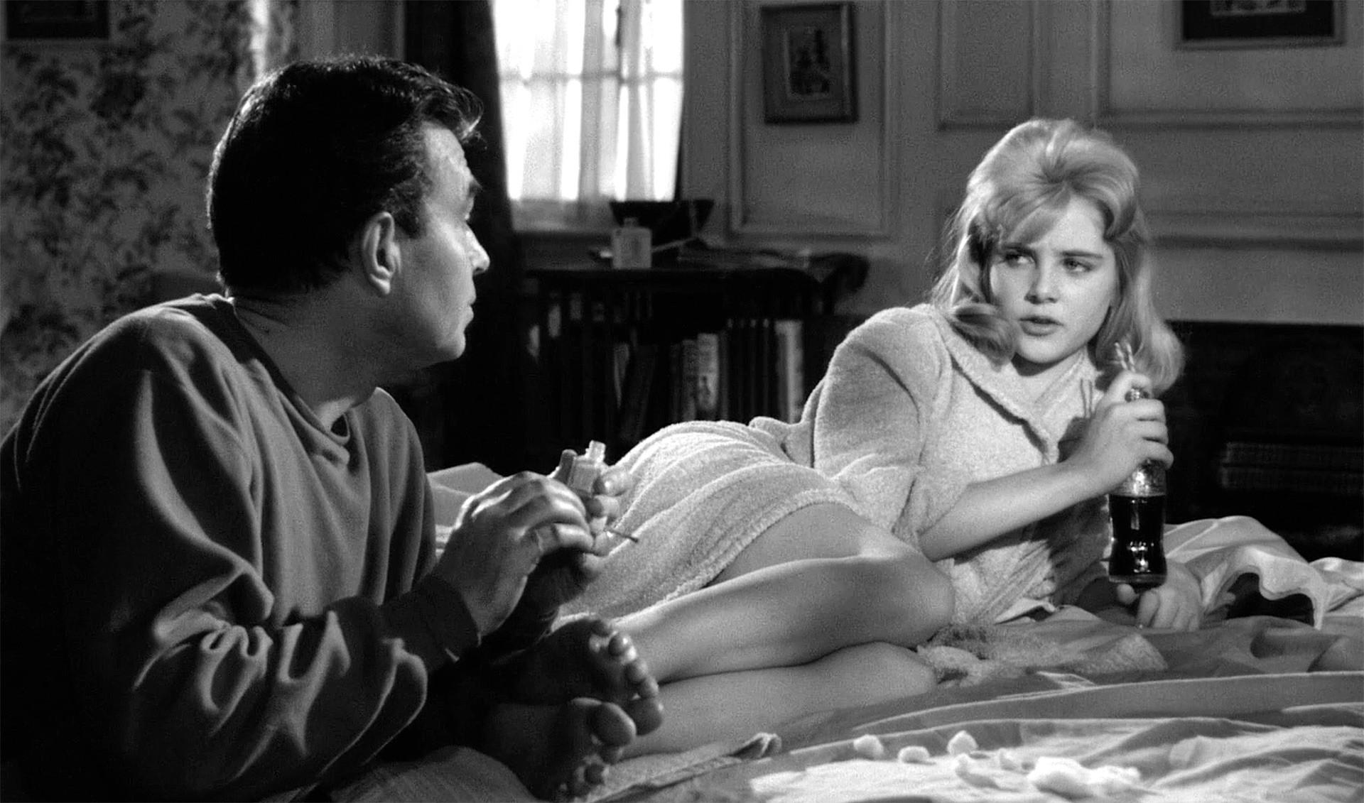 Fotograma de la película 'Lolita' de Stenley Kubrick (1962), basada en la novela de Nabókov.