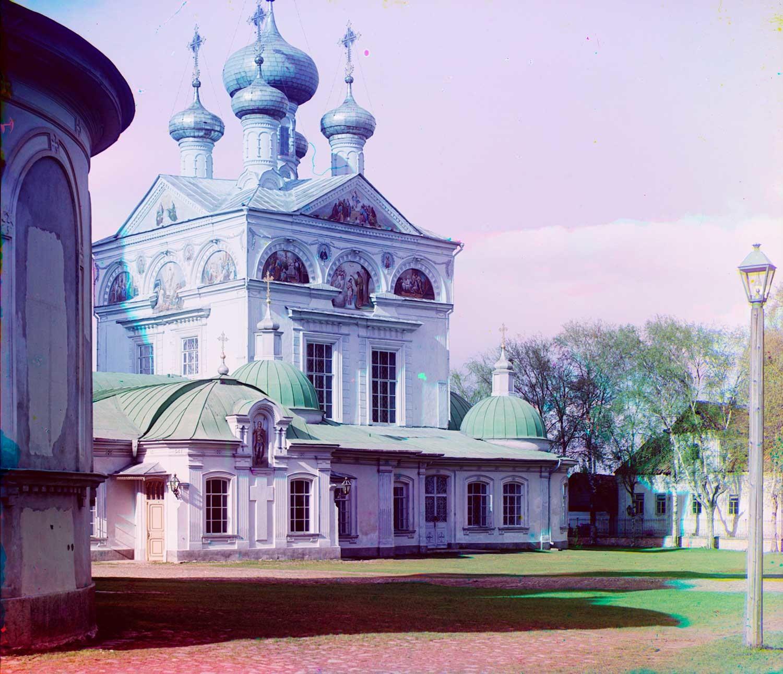 Cattedrale della Trinità. Vista sud-ovest. Inizio estate 1910