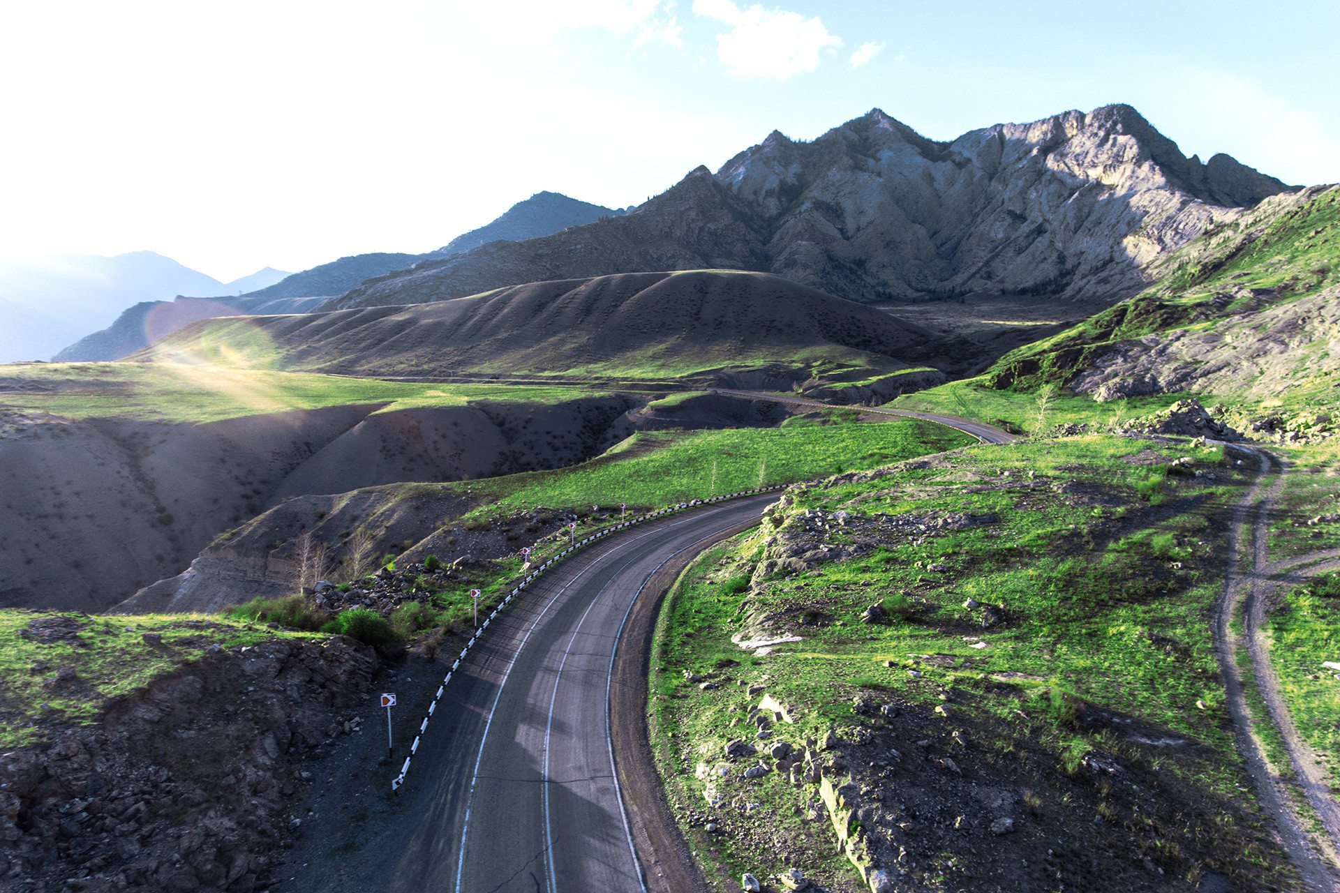 La carretera Chúiski.