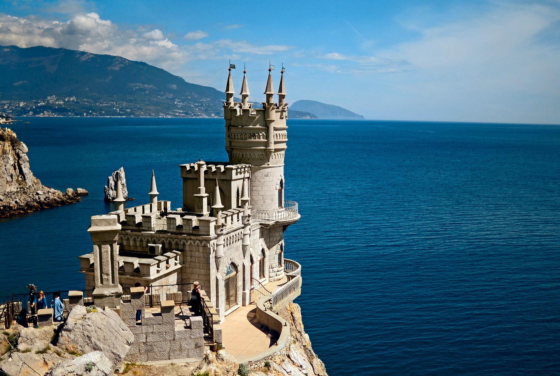 Castillo del Nido de la Golodrina, Yalta (Crimea).