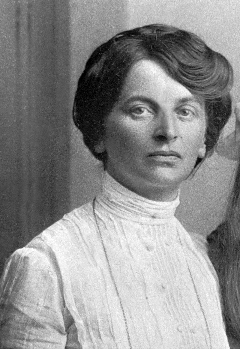 Inessa Armand, 1909.