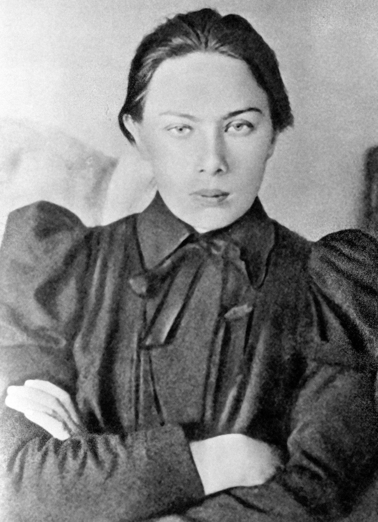 Nadezhda Krupskaya, istri Lenin.