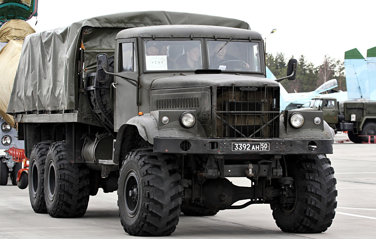 12 trucks that are the pride of the Russian automobile