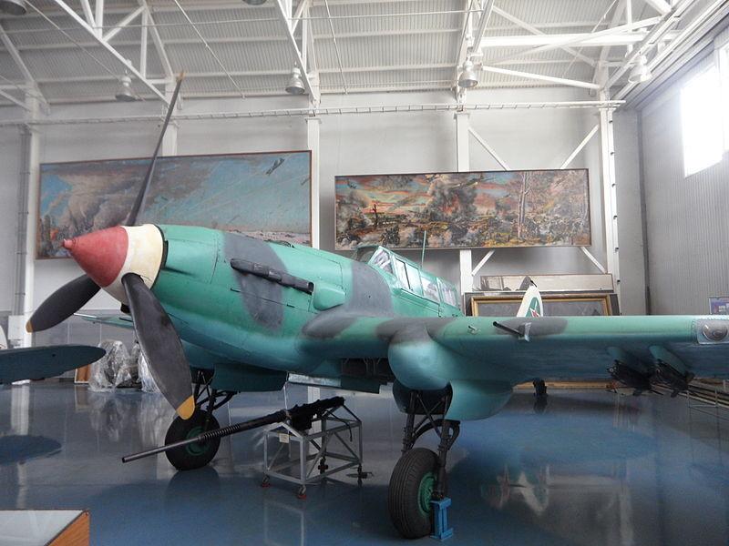 Il-2 Sturmovik, en el Museo Central de las Fuerzas Aéreas de Mónino.